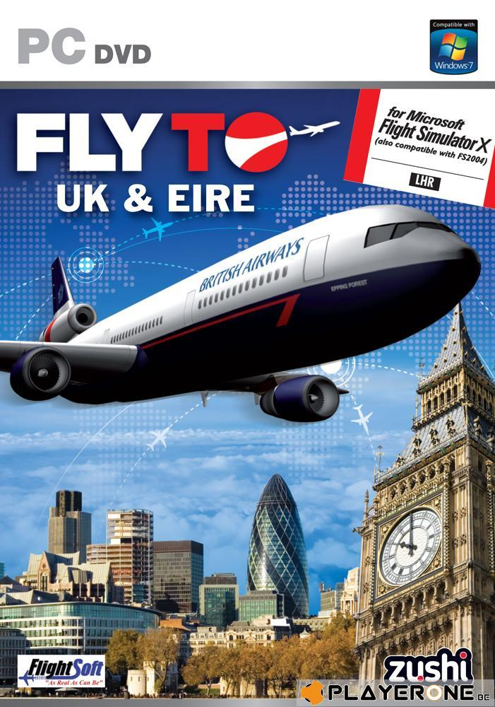 Fly To UK and Eire ( for Flight Simulator X ) (UK only)