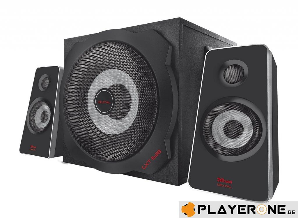 TRUST - GXT 638 Digital Gaming Speaker 2.1 (PC/PS3/PS4/360/XB one/Wii)