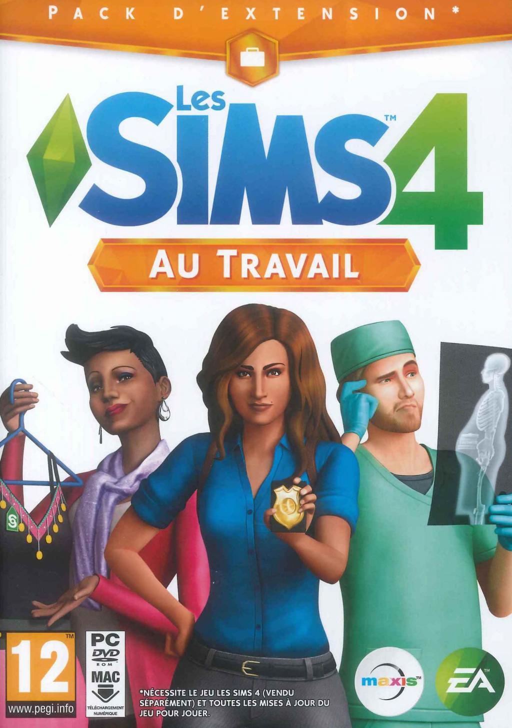 Les Sims 4 au Travail (Extention Pack 01)