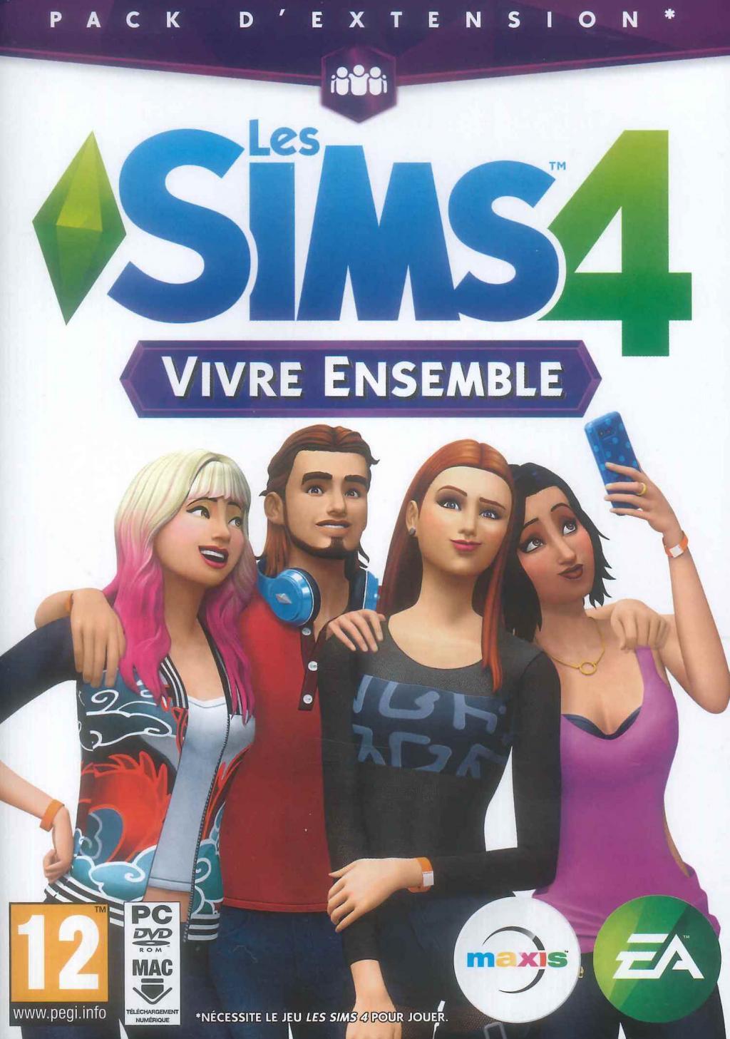 Les Sims 4 Vivre Ensemble (Extention Pack 02)