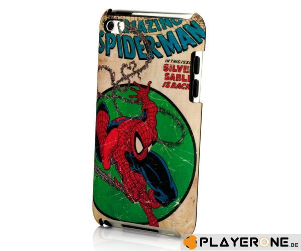 PDP - MOBILE - Marvel The Amazing Spiderman Clip Case IPod Touch 4