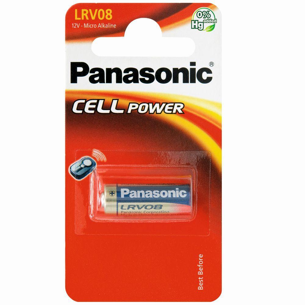 PANASONIC - Micro Alkaline - LRV08 X 1