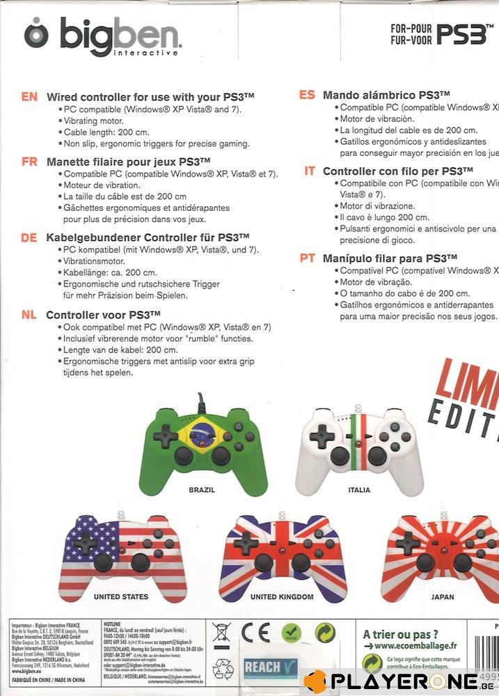 LIMITED EDITION : Wired Controller Flag ( Box 5 pces )_2