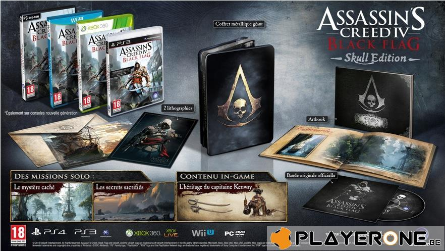 Assassin's Creed 4 Black Flag SKULL EDITION