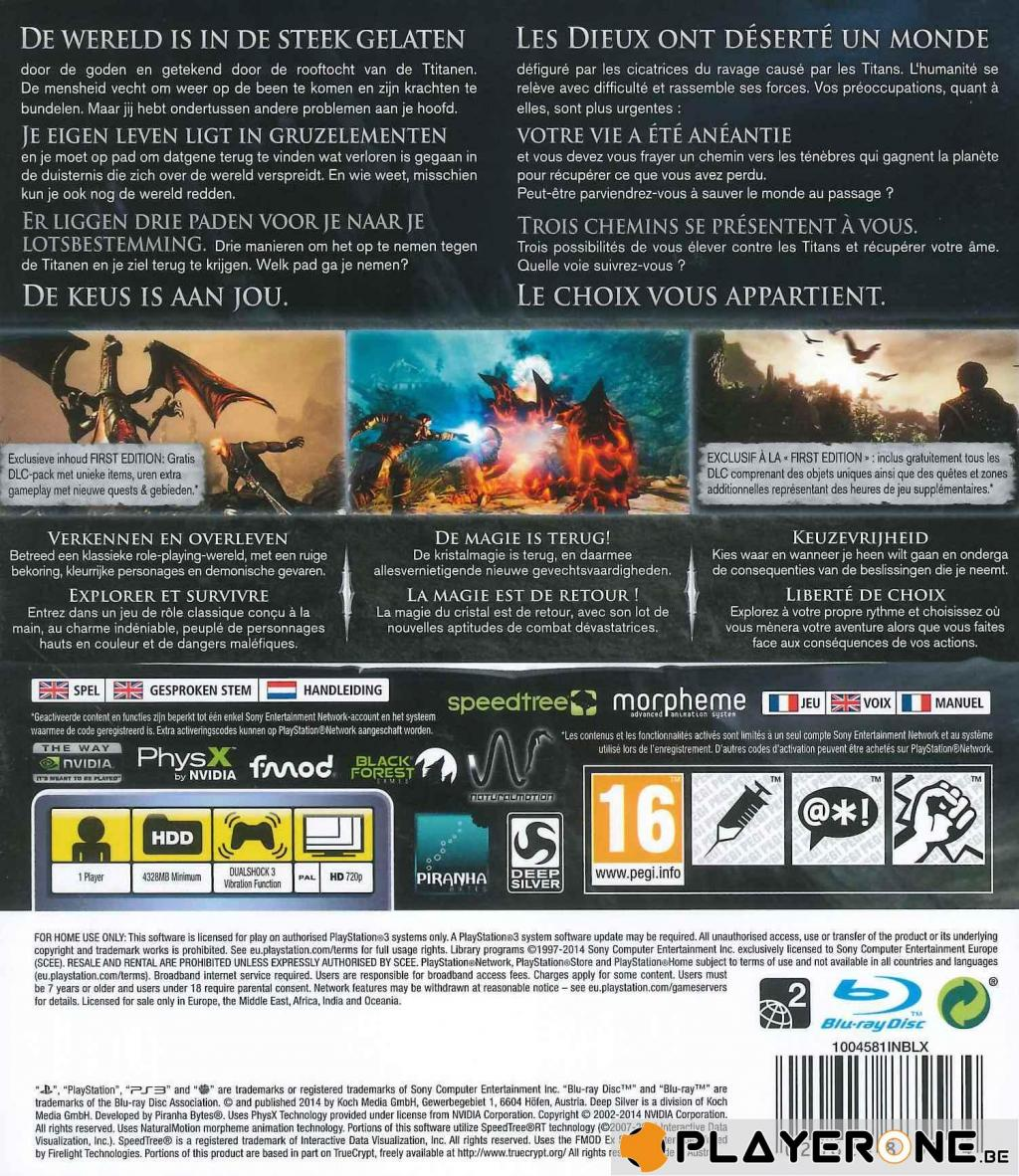 Risen 3 Titan Lords FIRST EDITION_2