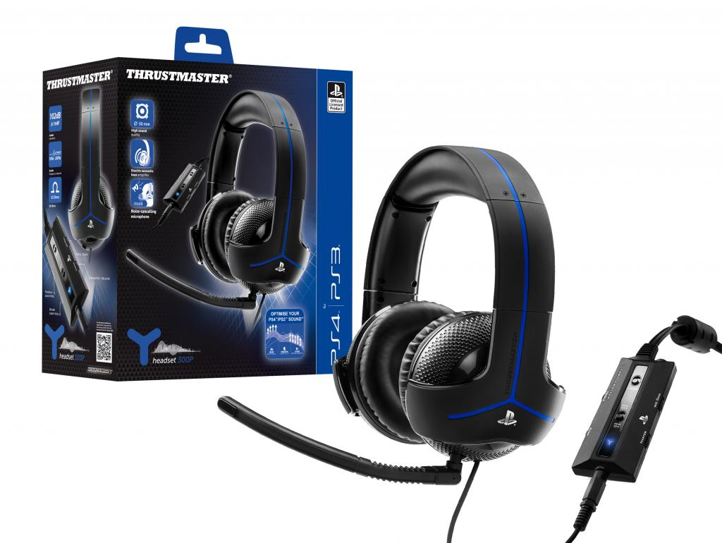 Gaming Headset Wired Y300P Official Product PS4/PS3/PC (Thrustmaster)_1