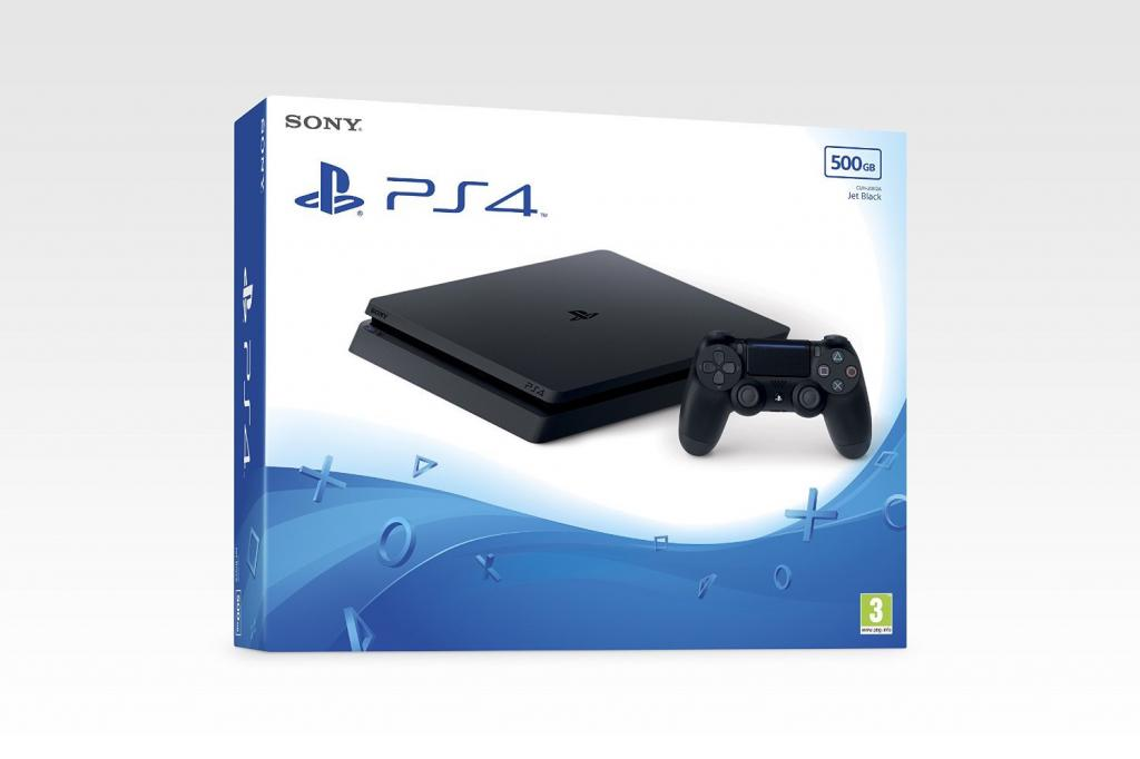Console PS4 SLIM - 500 GB Black