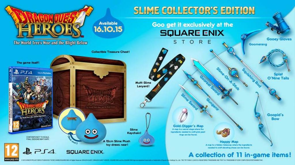 Dragon Quest Heroes COLLECTOR EDITION