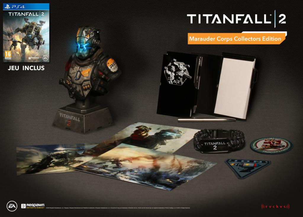 Titanfall 2 Marauder Corps Collector Edition