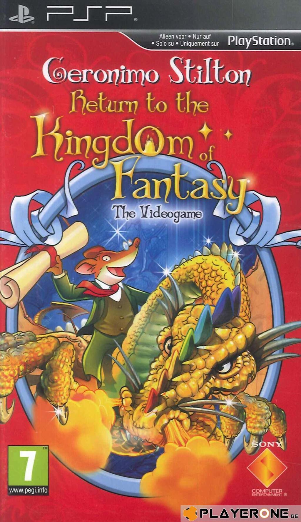 Geronimo Stilton 2 Return to Kingdom of Fantasy_1