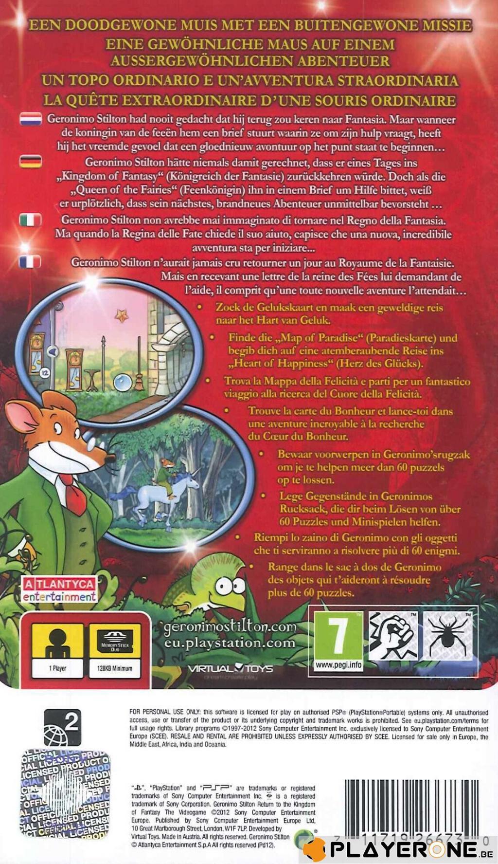 Geronimo Stilton 2 Return to Kingdom of Fantasy_2