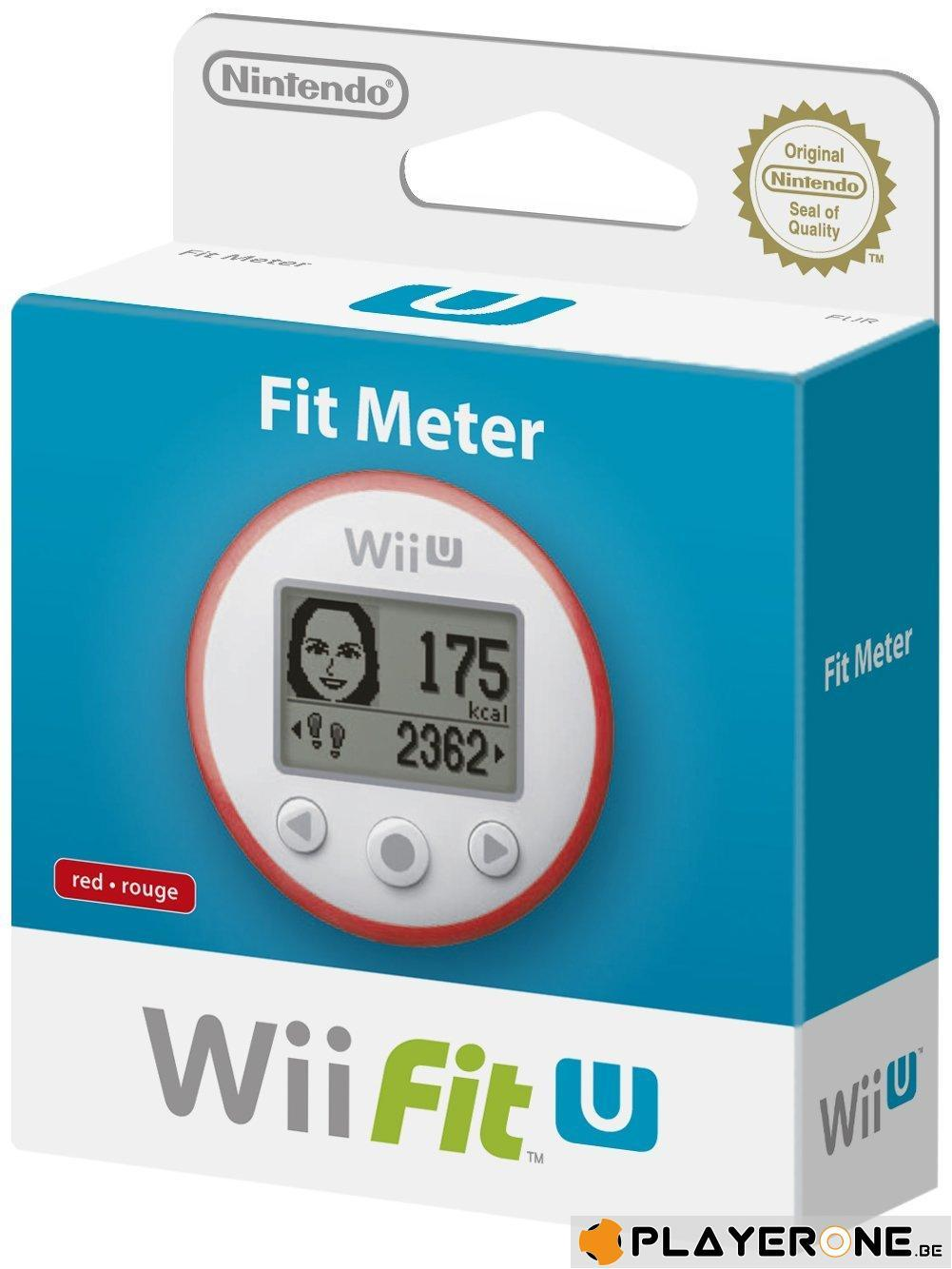 Wii U Fit Meter - RED_1