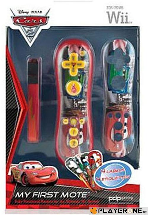 My First Wii Mote + 4 Wii Remote  - CARS_1