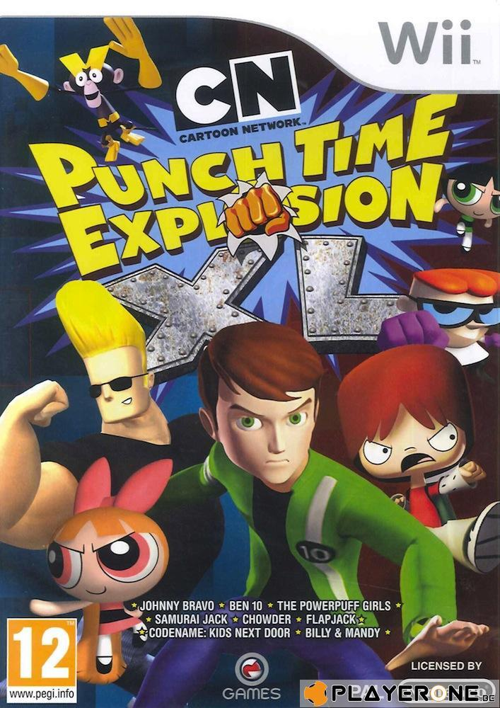 Cartoon Network Punchtime Explosion XL_1