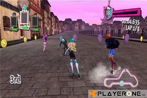 Monster High : Course de Rollers Incroyablemenbt Monstrueuse_3