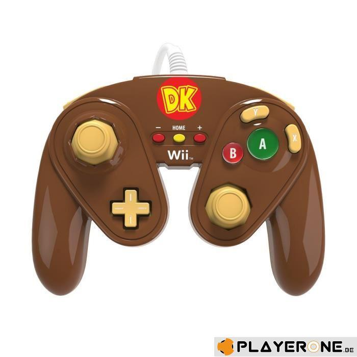 PDP - Nintendo Wired Fight Pad WII U Official GC controller Donkey K_1
