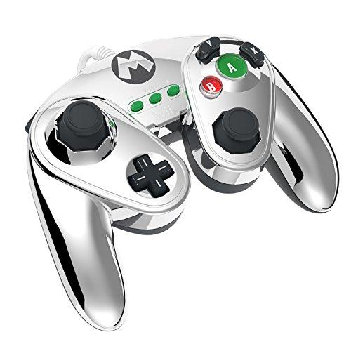 PDP - Nintendo Wired Fight Pad WII U Official GC controller MarioMetal_4