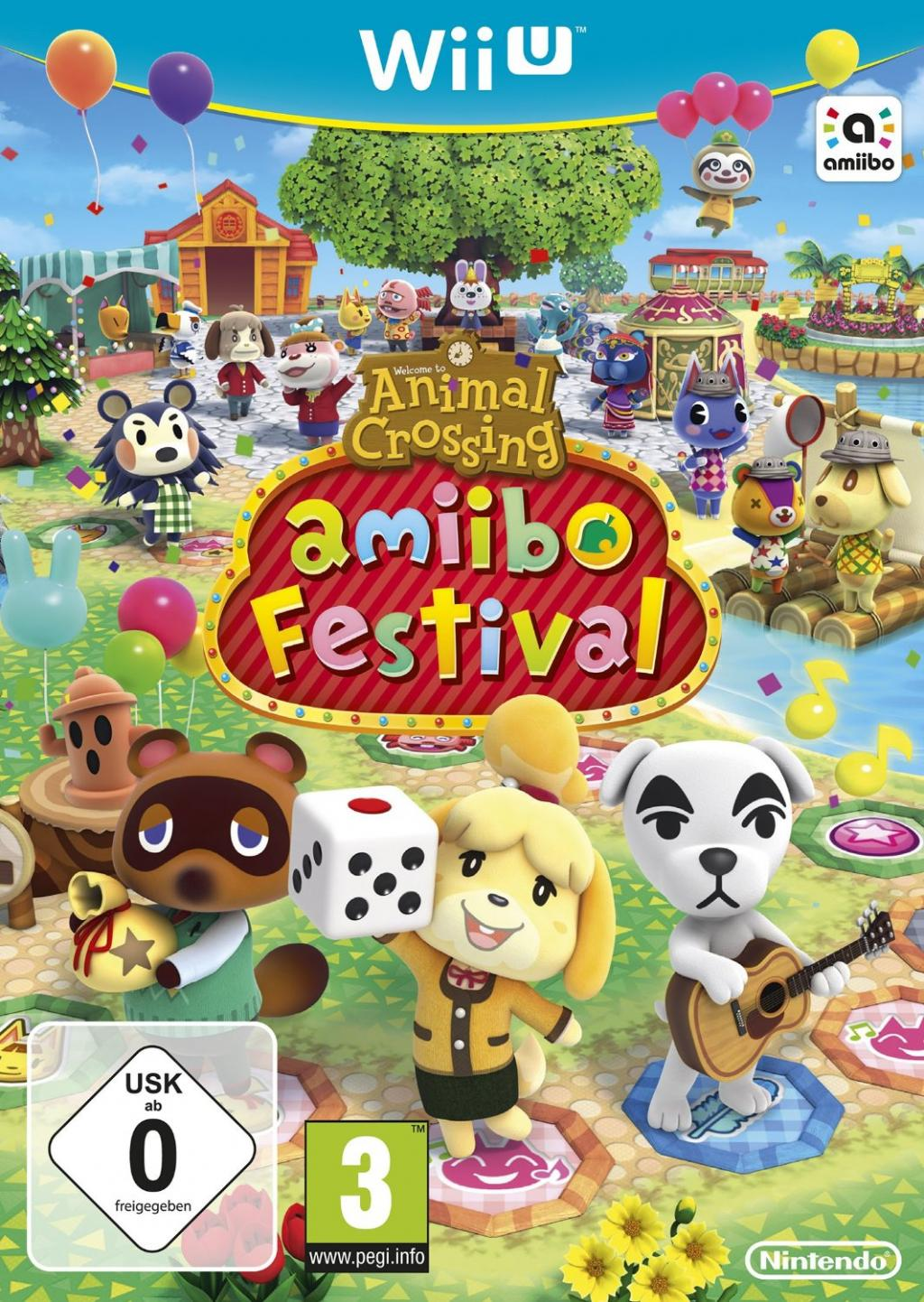 ANIMAL CROSSING AMIIBO FESTIVAL + 2 AMIIBO + 3 CARDS_2