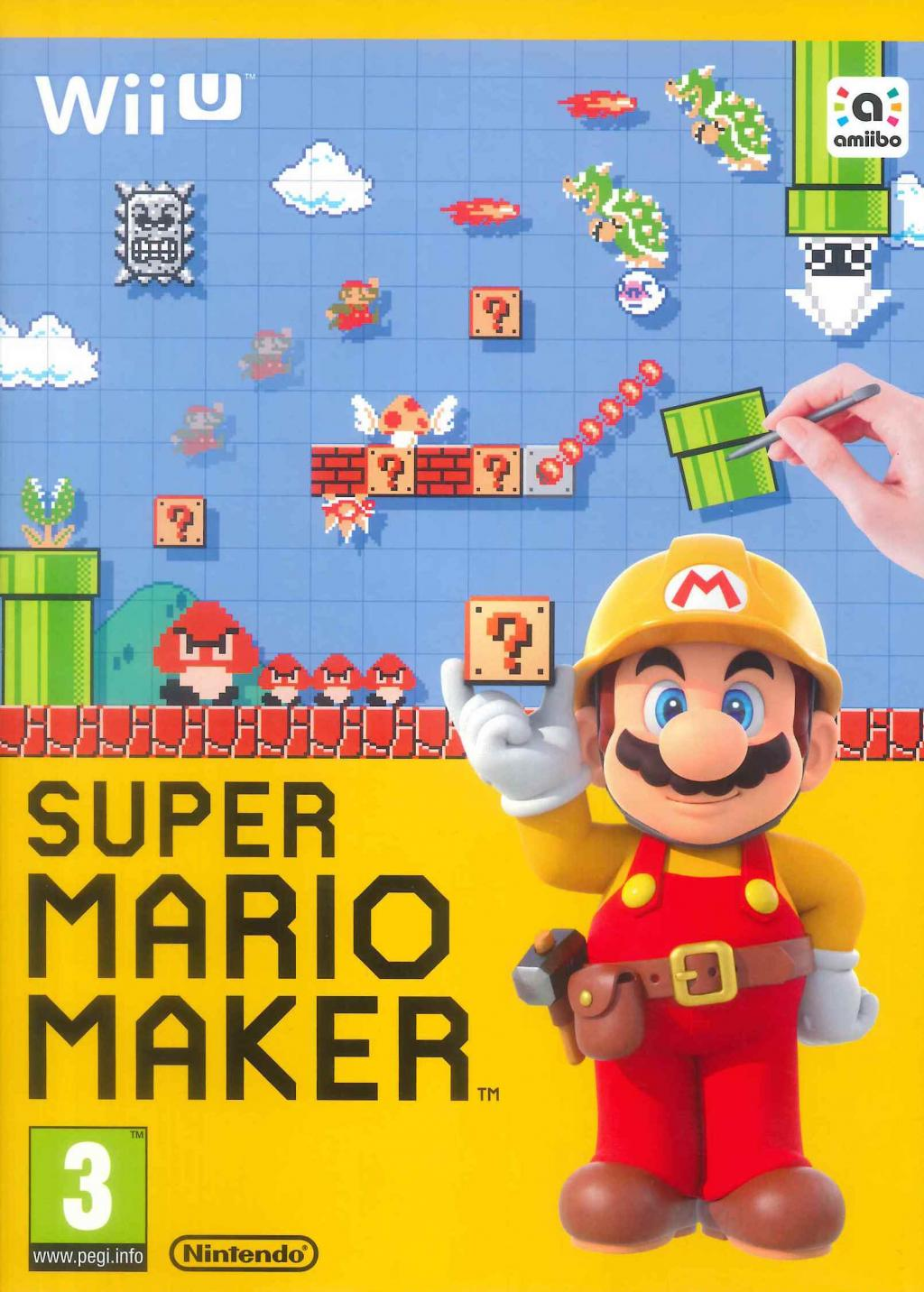 Super Mario Maker + Artbook_1