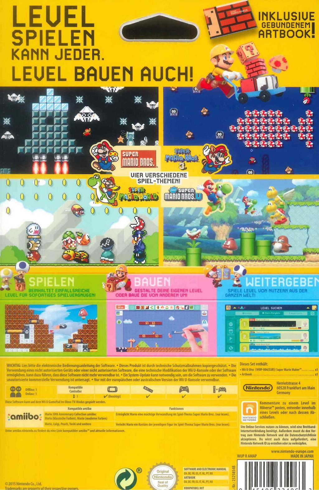 Super Mario Maker + Artbook_2