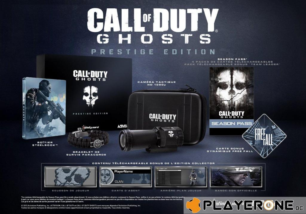 Call of Duty Ghosts PRESTIGE EDITION_1