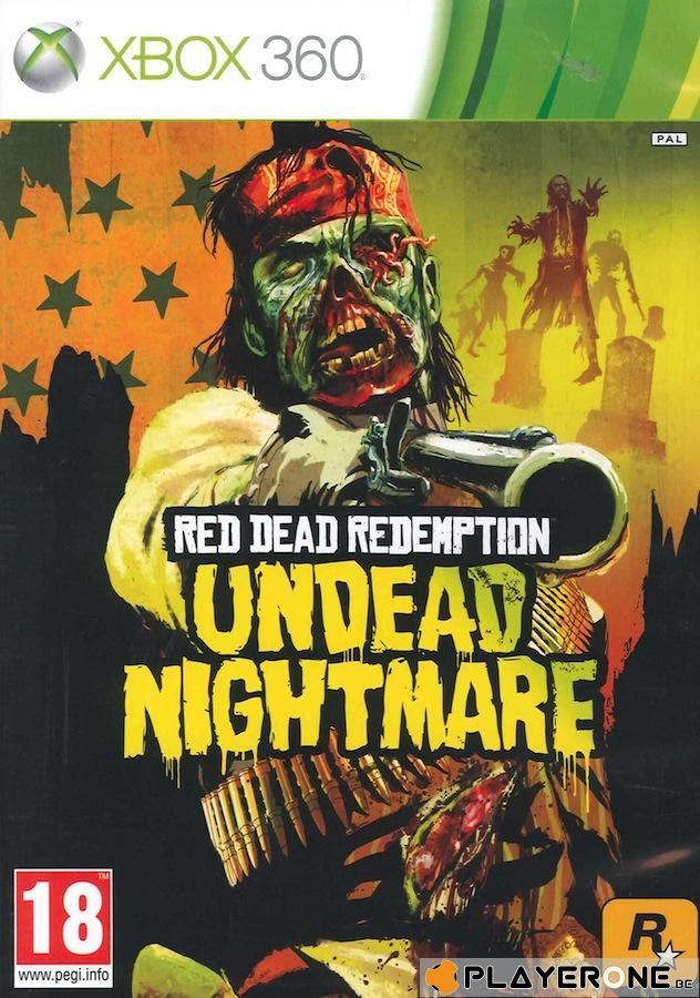 Red Dead Redemption Undead Nighmare Pack