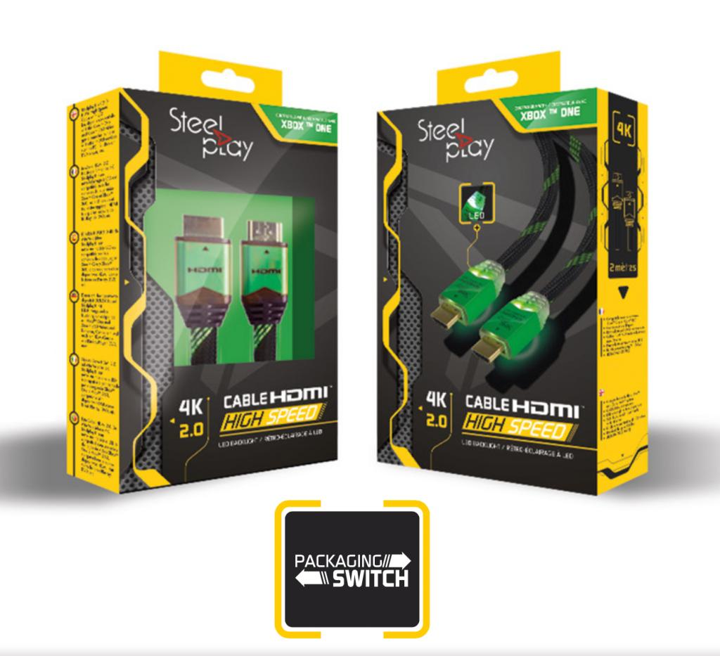 STEELPLAY - 4K 2.0 HDMI High Speed Cable Xbox