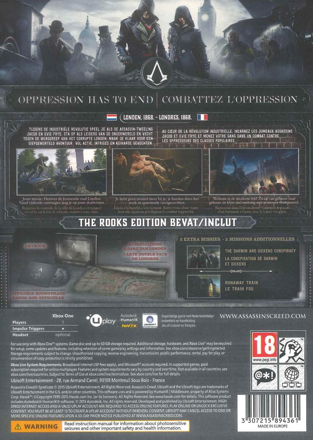 Assassin's Creed Syndicate The Rooks Edition_2