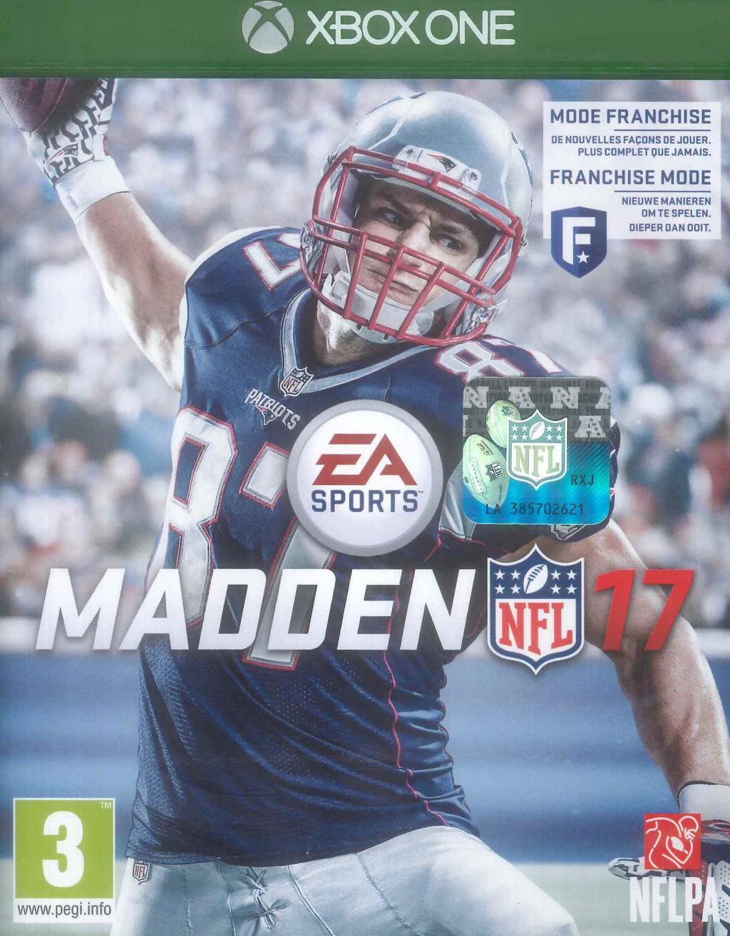 Madden NFL 17 (UK Only)