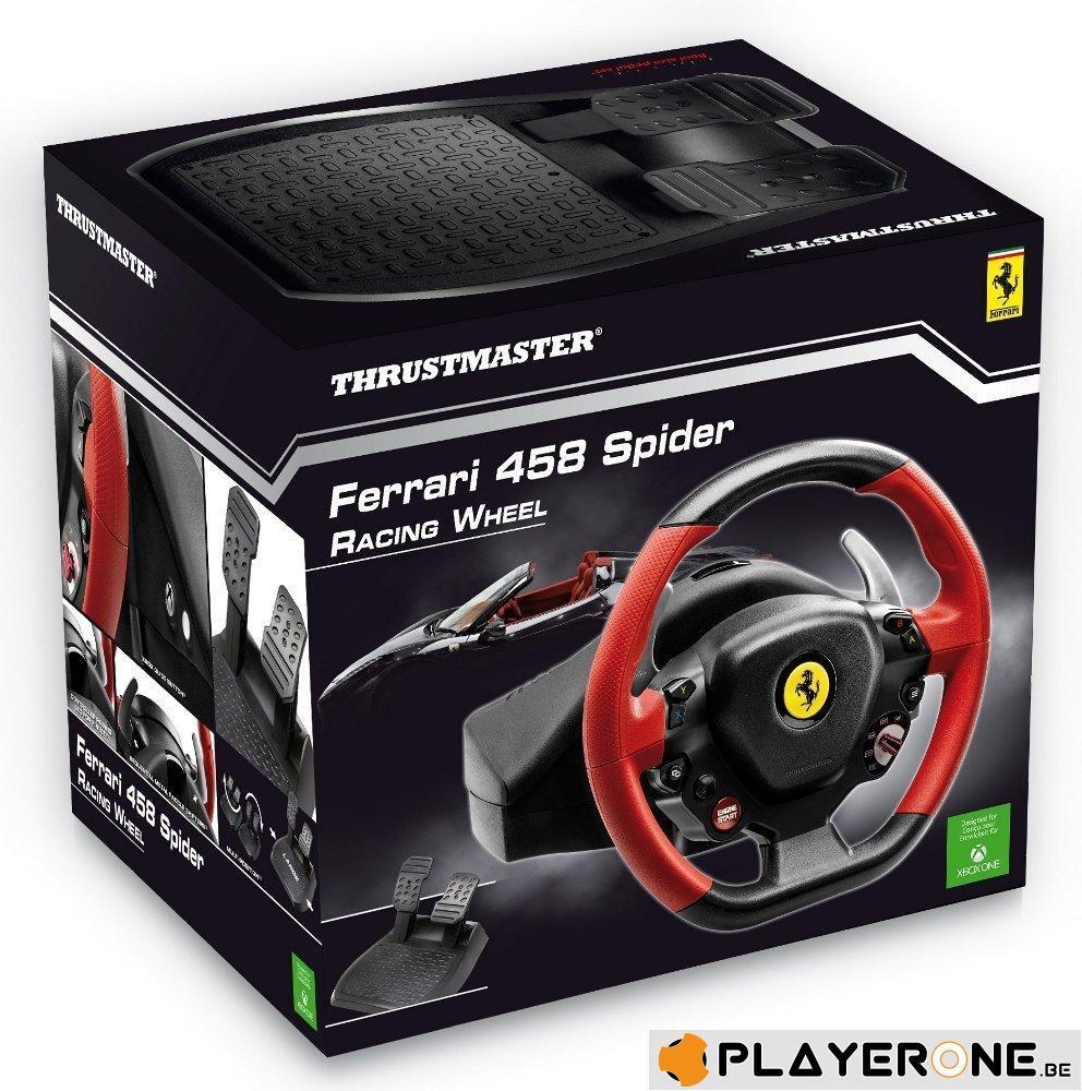 FERRARI 458 Spider Racing Wheel Official XBOX ONE (Thrustmaster)_1