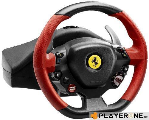FERRARI 458 Spider Racing Wheel Official XBOX ONE (Thrustmaster)_3