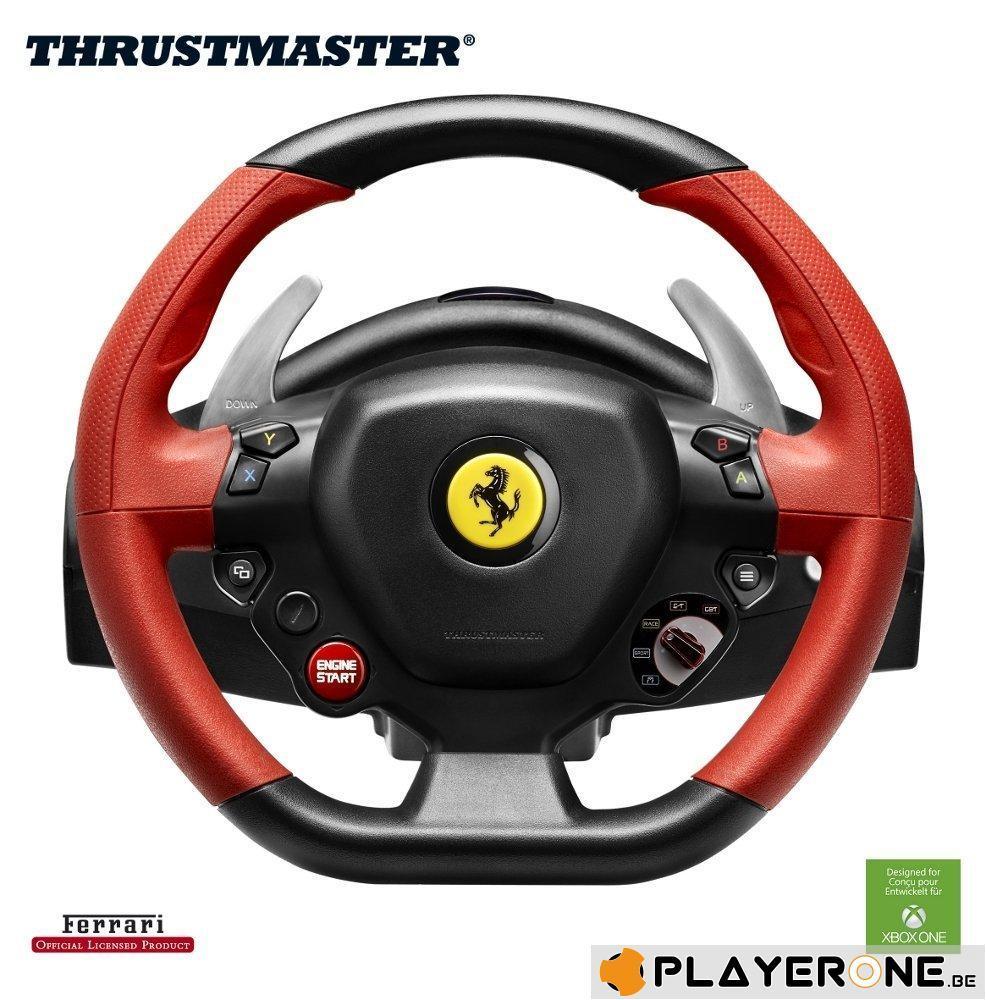 FERRARI 458 Spider Racing Wheel Official XBOX ONE (Thrustmaster)_5
