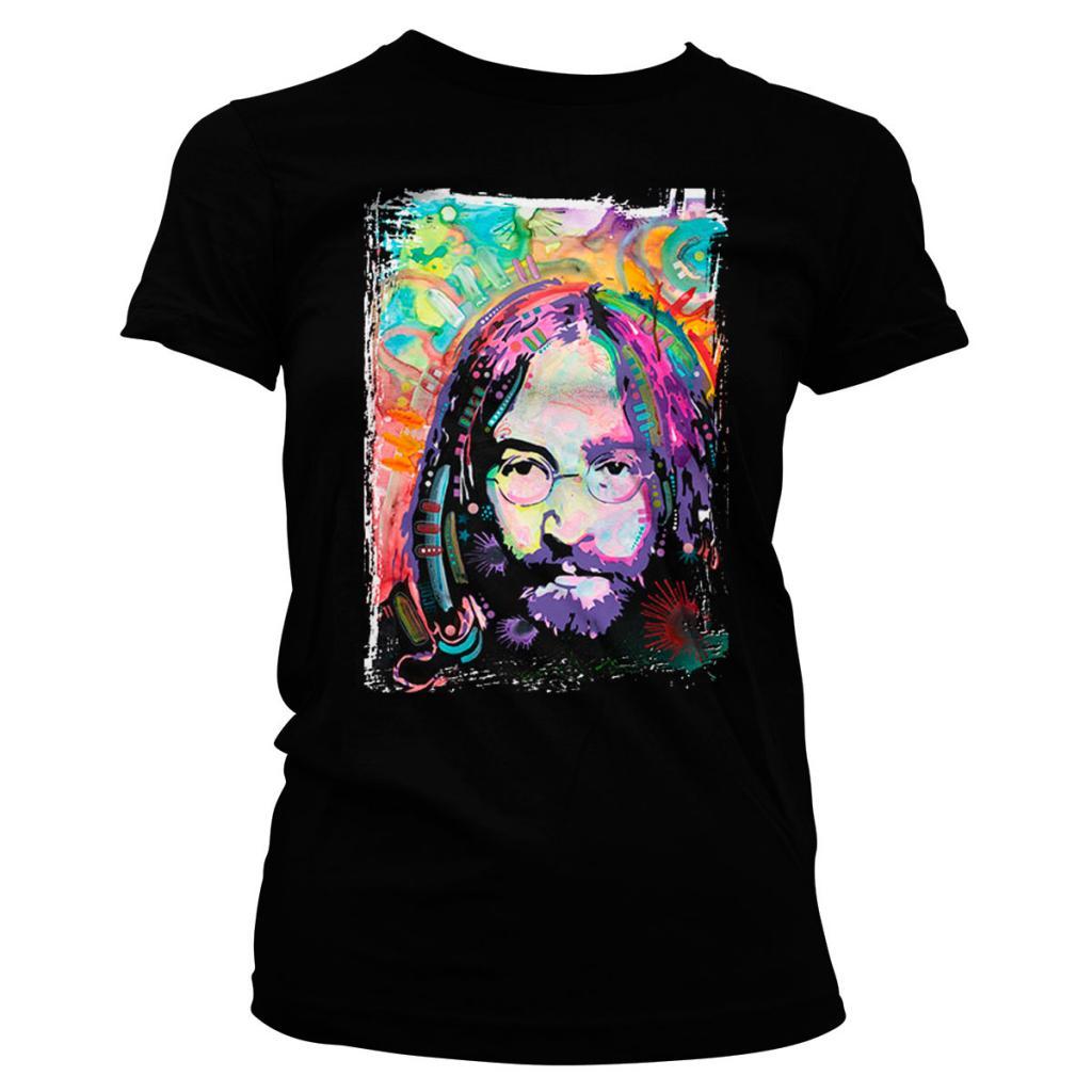 MUSIC - T-Shirt COLORFULL John Lennon'S Mind - GIRL (L)