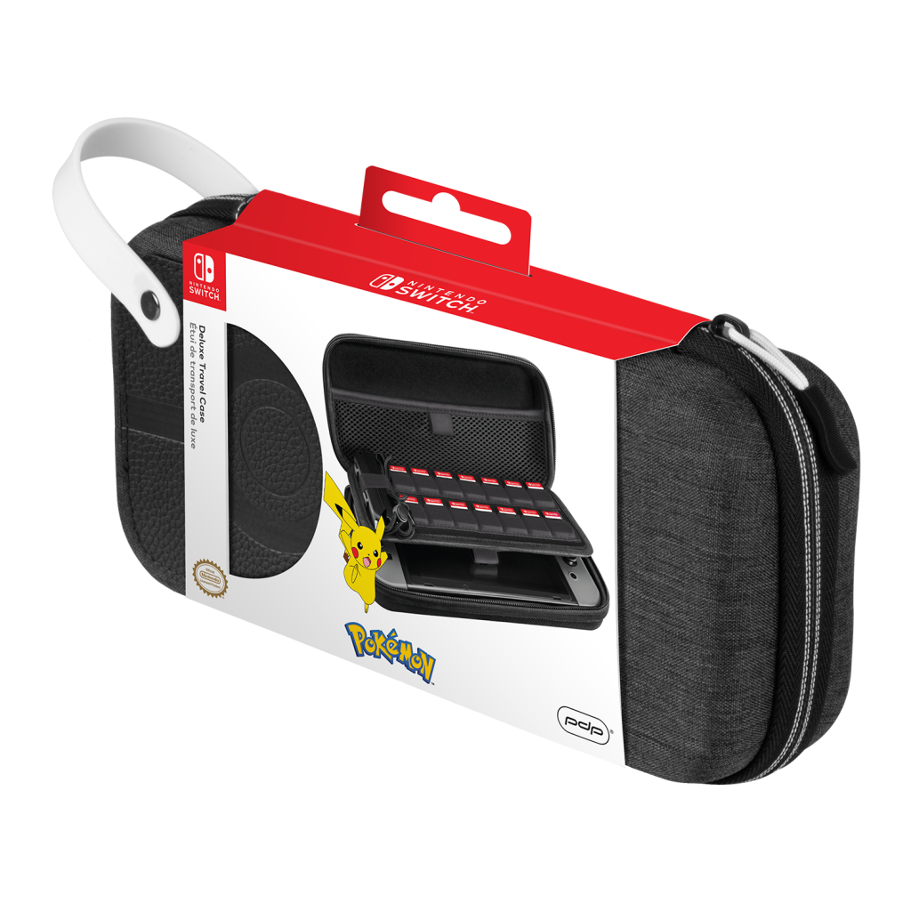 Official Switch Deluxe Travel Case - Pokeball for Switch & Switch Lite_1