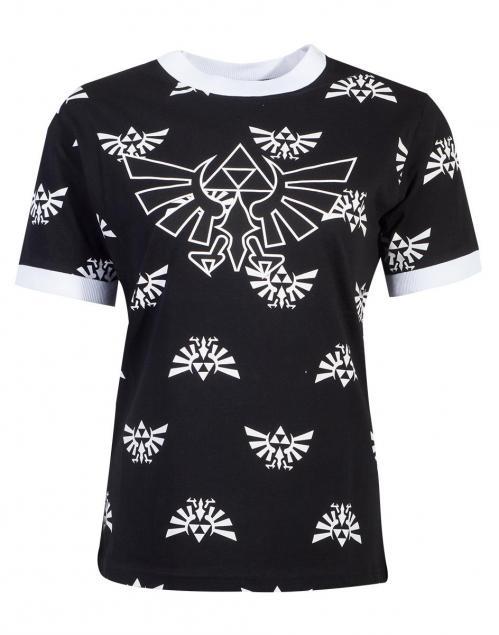 ZELDA - T-Shirt Femme - Hyrule (XXL)