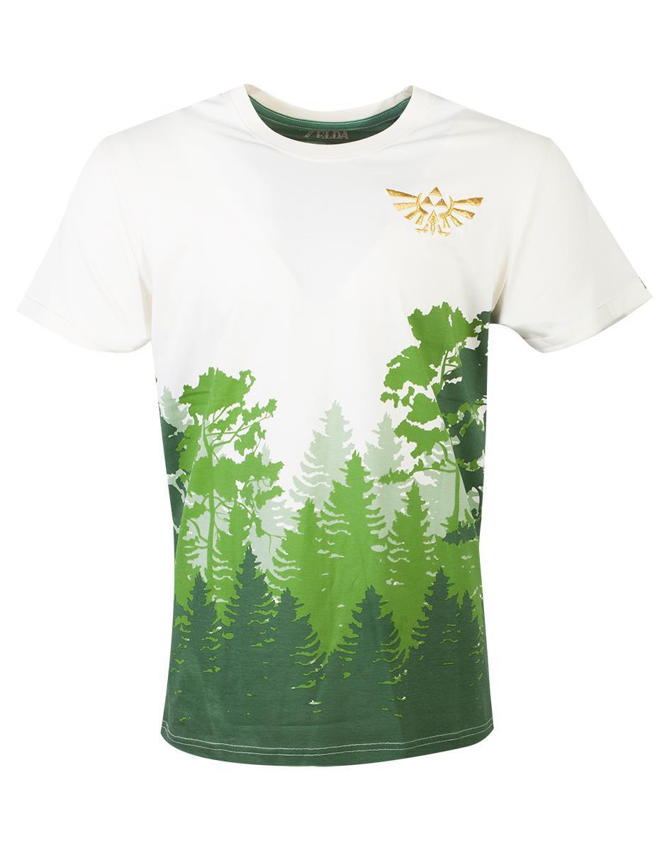 ZELDA - T-Shirt Homme - Hyrule Forrest (L)