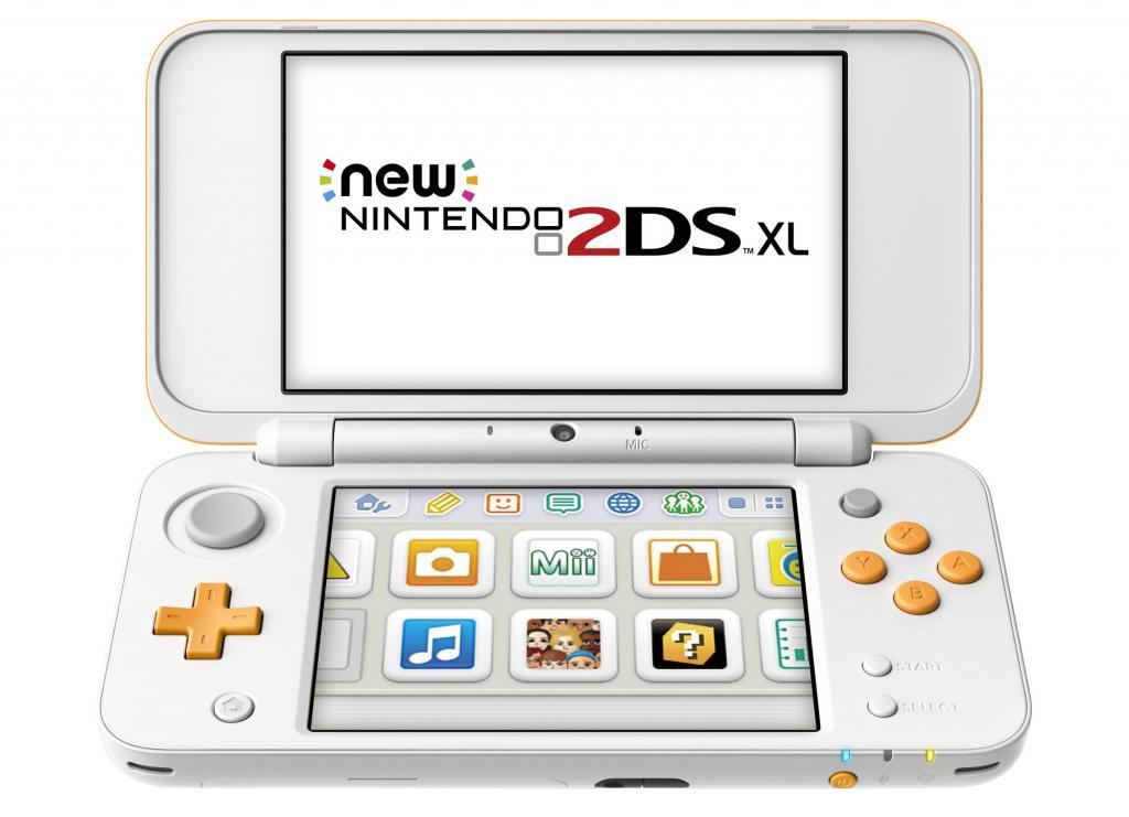 Console 2DSXL  - White + Orange_3