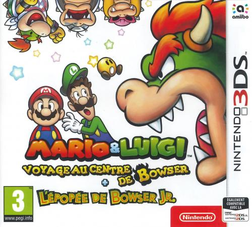 Mario & Luigi : Voyage au centre de Bowser + L'épopée de Bowser Jr.