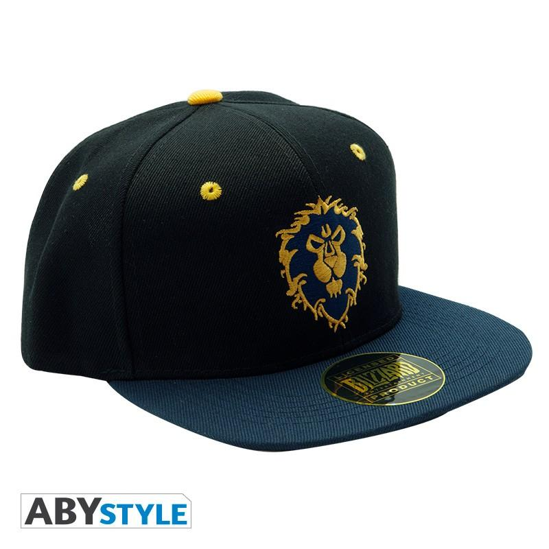 WORLD OF WARCRAFT - Casquette snapback - Bleu - Alliance