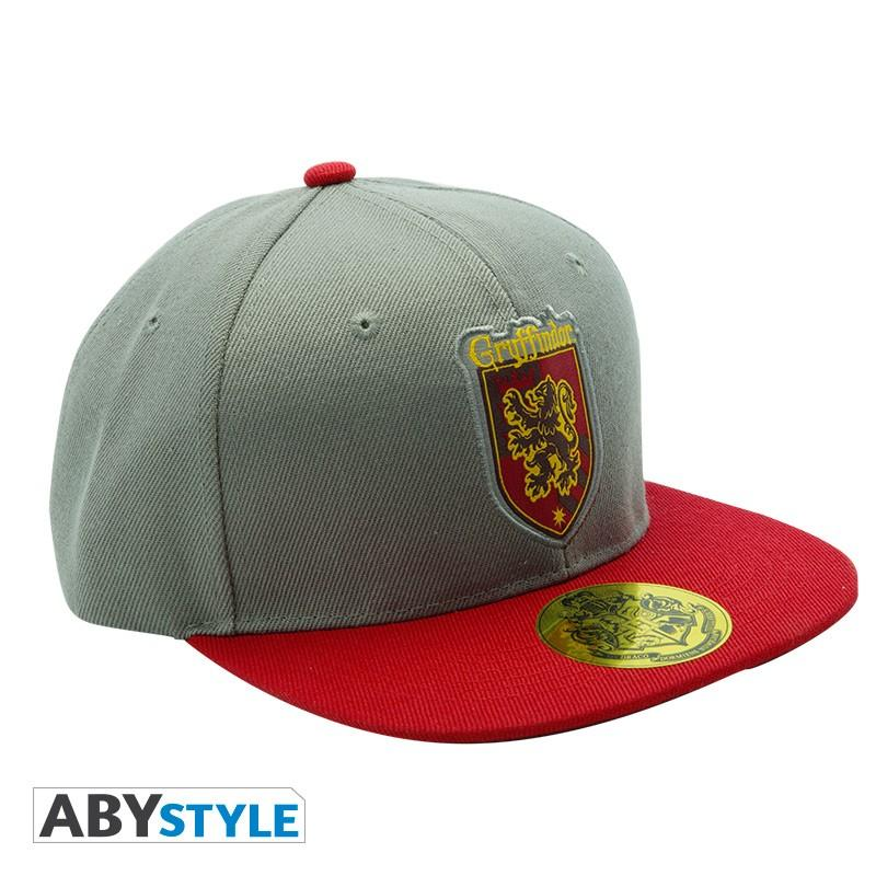 HARRY POTTER - Casquette - Gris & Rouge - Gryffondor