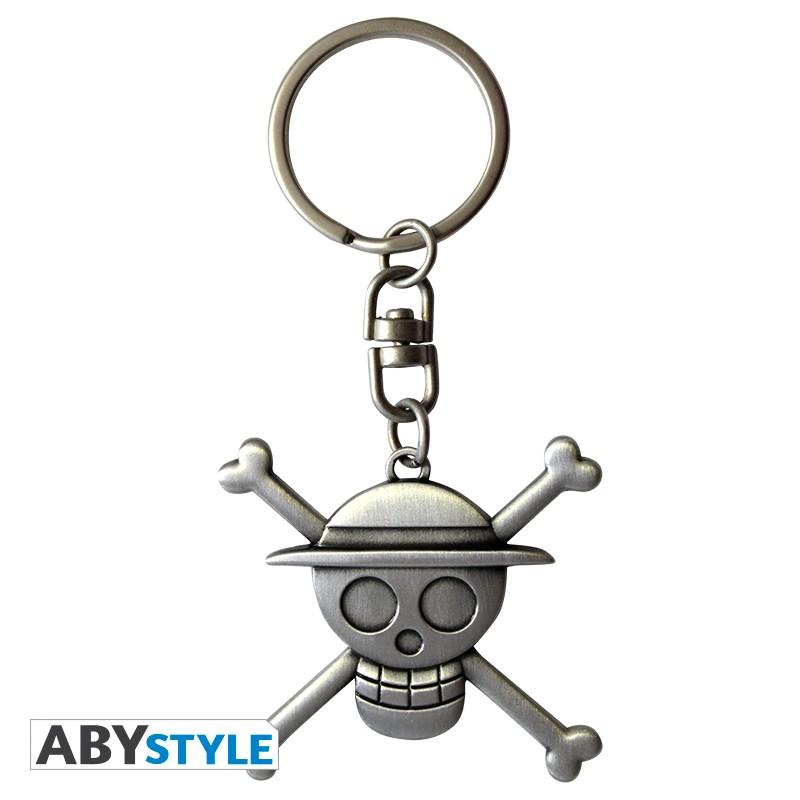 ONE PIECE - Porte-Cles Metal 3D - Skull Luffy