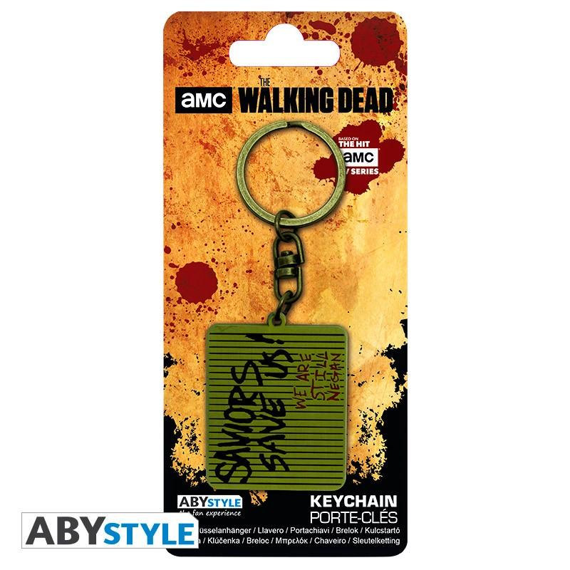 THE WALKING DEAD - Porte-Cles Metal - The Saviors Save Us_5