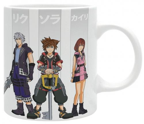 KINGDOM HEARTS - Mug 320 ml - Heros