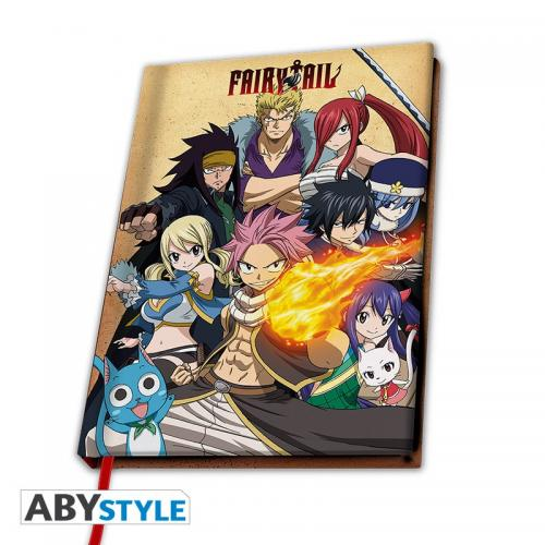 FAIRY TAIL - Notebook A5 - Group