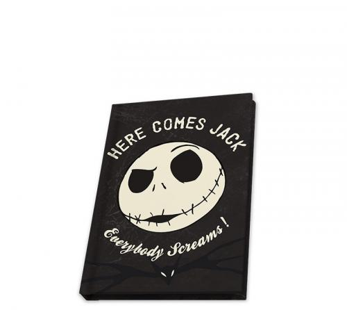 NIGHTMARE BEFORE XMAS - Carnet A6 / 80 Pages - Jack Phosphorescent