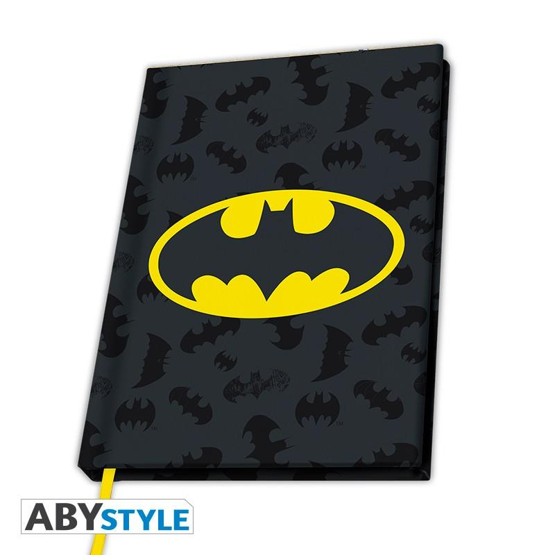 DC COMICS - Notebook A5 - Logo Batman