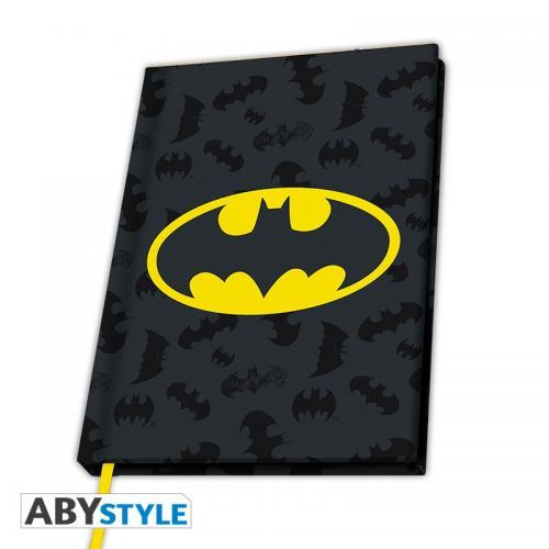 DC COMICS - Notebook A5 - Logo Batman