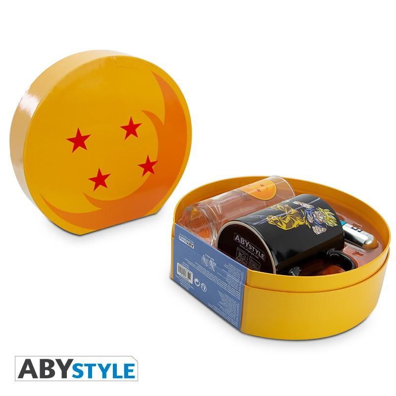 DRAGON BALL - Coffret Premium (Mug HC + Verre + Porte Clés) - DBZ