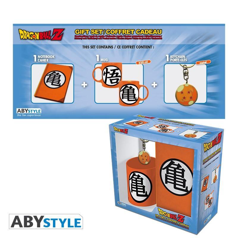 DRAGON BALL - Pack Mug + Porte Clés + Cahier - Kame Symbol
