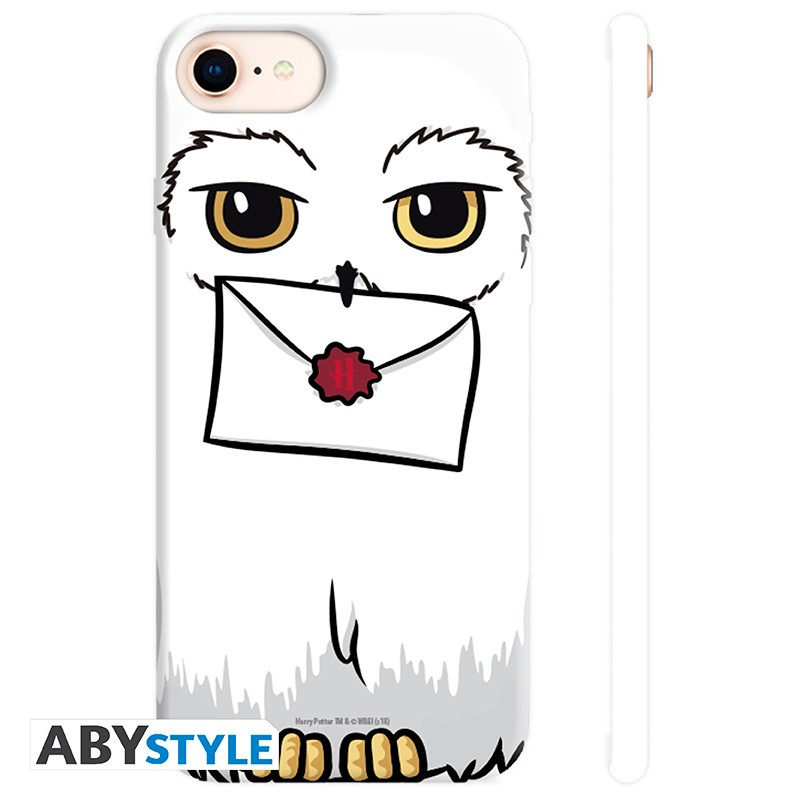 HARRY POTTER - Coque iPhone 6/6S/7/8 - Hedwige